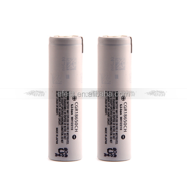 Wholesale 18650 battery 2250mah CGR18650CH for 2250mah CGR18650CH 18650 3.7V battery