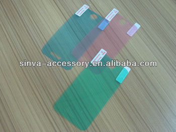 3 layer Japan PET Colorful Screen Protector ,