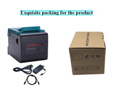 Lan port 80mm compact printer Using 100M Ethernet card, connect printer faster to avoid losing bills