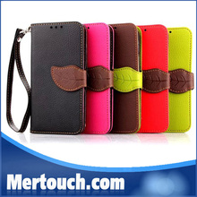 hot selling new arrived cell phone cases , Wallet Stand For Samsung Galaxy S5 Mini Leather Case