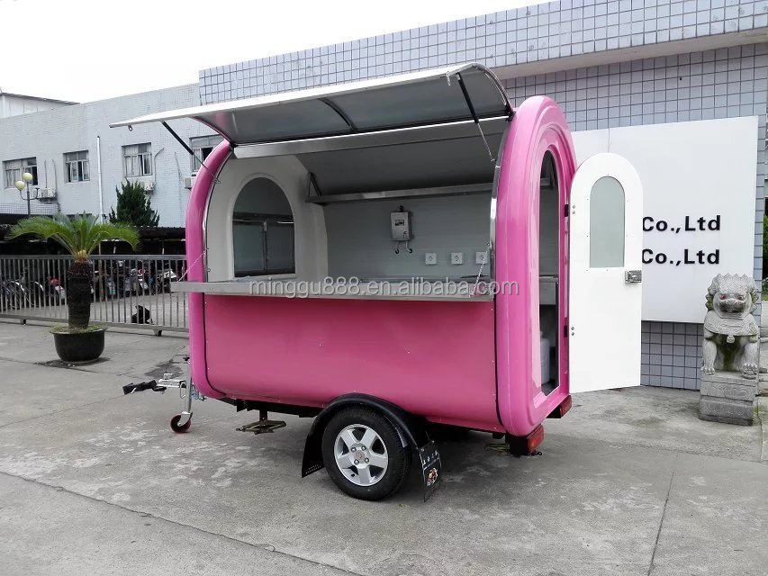 used Food Trucks/used military trucks/bbq Trailer For Sale