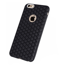 hot products football design soft tpu case for iphone 6, honeycomb skin for iPhone 6s silicone cell phone cover