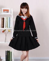 The Japanese Anime cosplay costumes 2015 Japanese School Uniform Cosplay Costume Girl Dress