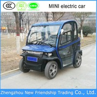 China manufacturer 2 person electric mini car with high quality