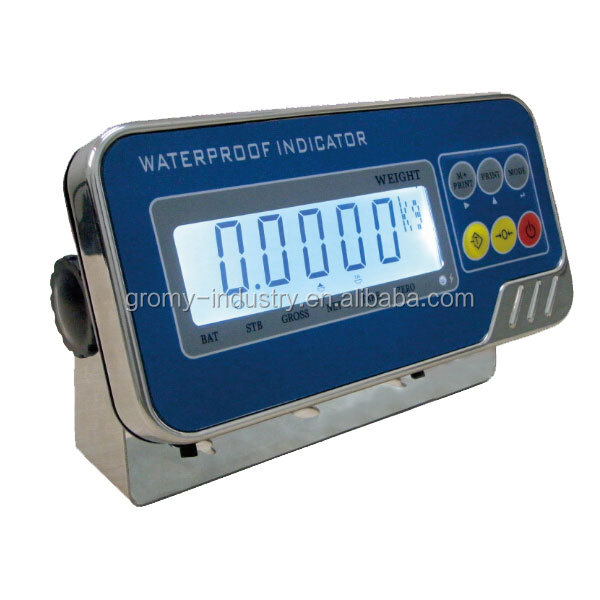 Electronic digital IP67 waterproof weighing indicator
