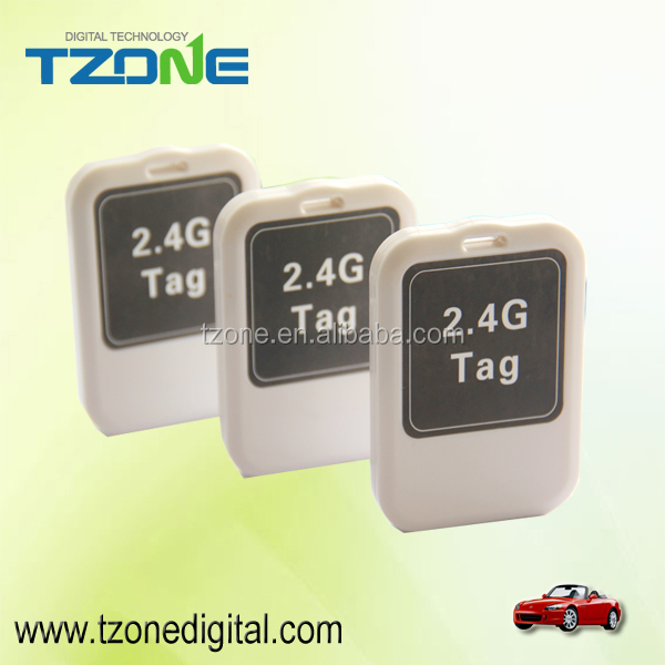 Tzone 2.4GHz RFID Tag Mini Active Tag Waterproof IP65 Low Power Alarm TZ-Tag02
