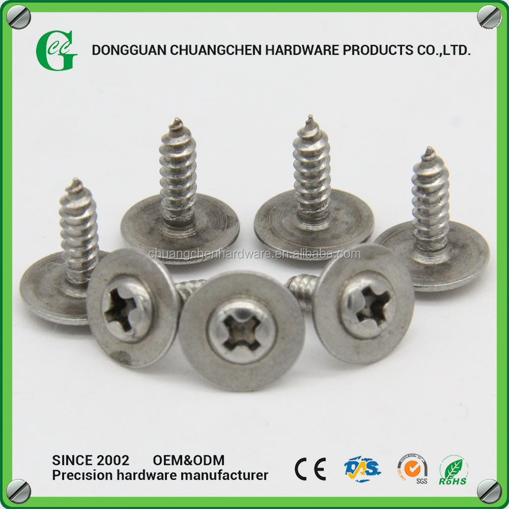 M3x10 Round Head With Washer Screw Phillips Sharp End Screw Set