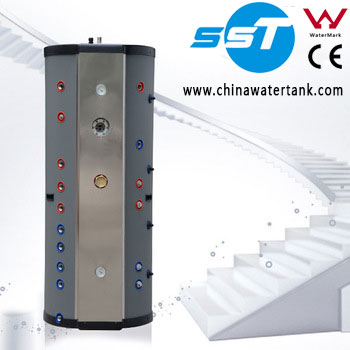 SST Stainless steel solar hot water heater water tank