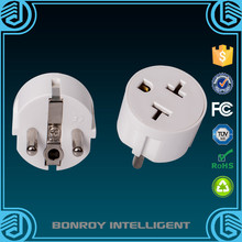Travel agent small gift US to Europe AC Wall Socket Plug US to EU Power Converter Adapter
