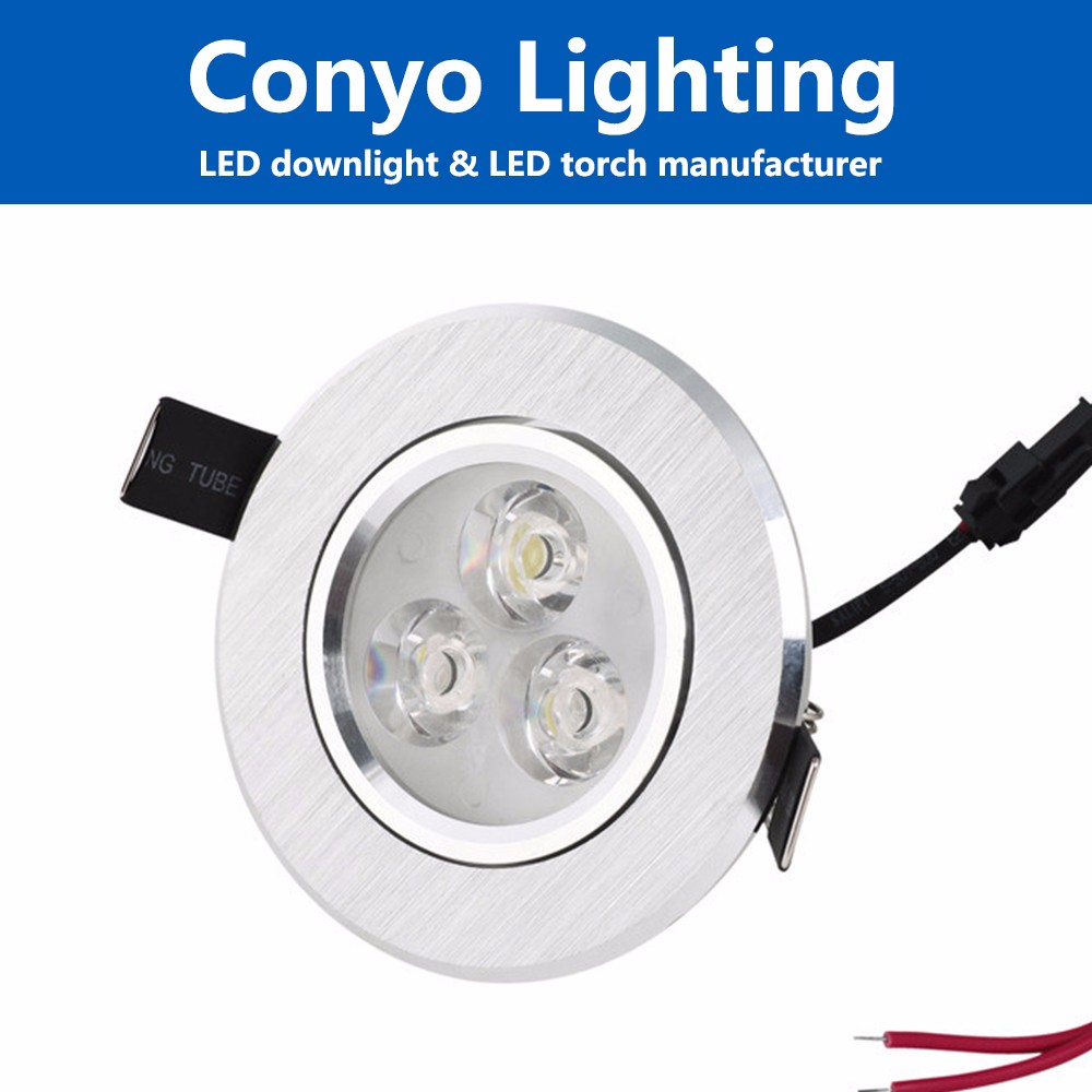 LED cabinet cob led downlight, 1w round mini led downlighting spare part