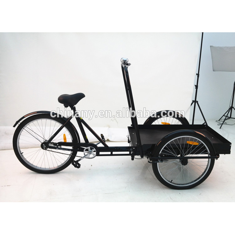 UB9027PB 3 wheel single speed can bicycle trailer carry cargo