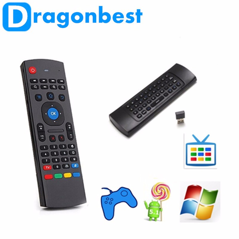 Factory MX3 Keyboard 2.4G Remote Control Wireless Keyboard+Air Fly Mouse+IR Remote Control For XBMC Android Mini PC TV Box