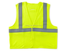 Polyester hi vis disposable winter safety vest
