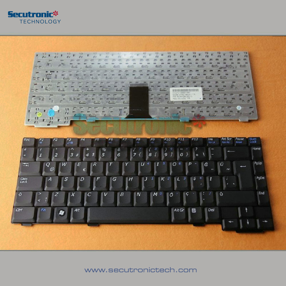 Laptop Keyboard for BENQ Joybook A51e A52 A52E Turkish black