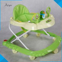 First Combi All-In-One Mobile Entertainer circle baby walker with swing for baby folding Musical Jumper Car Driver dinner chair