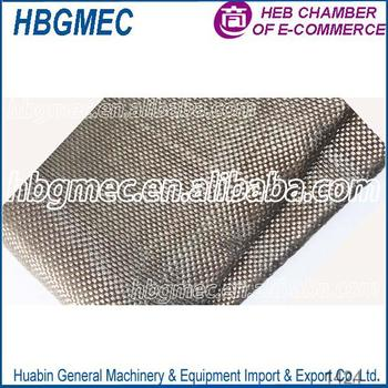 Smooth Surface Treatment Twill basalt fabric for sale