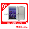 9 inch MTK6572 dual core 512MB 4GB city call android phone tablet pc