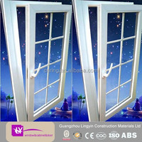 New style tilt-turn upvc windows hinges with grill