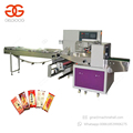 Hot Sale Automatic Flow Pack Soap Cake Packaging Sweet Donut Banana Packing Machine For Chocolate