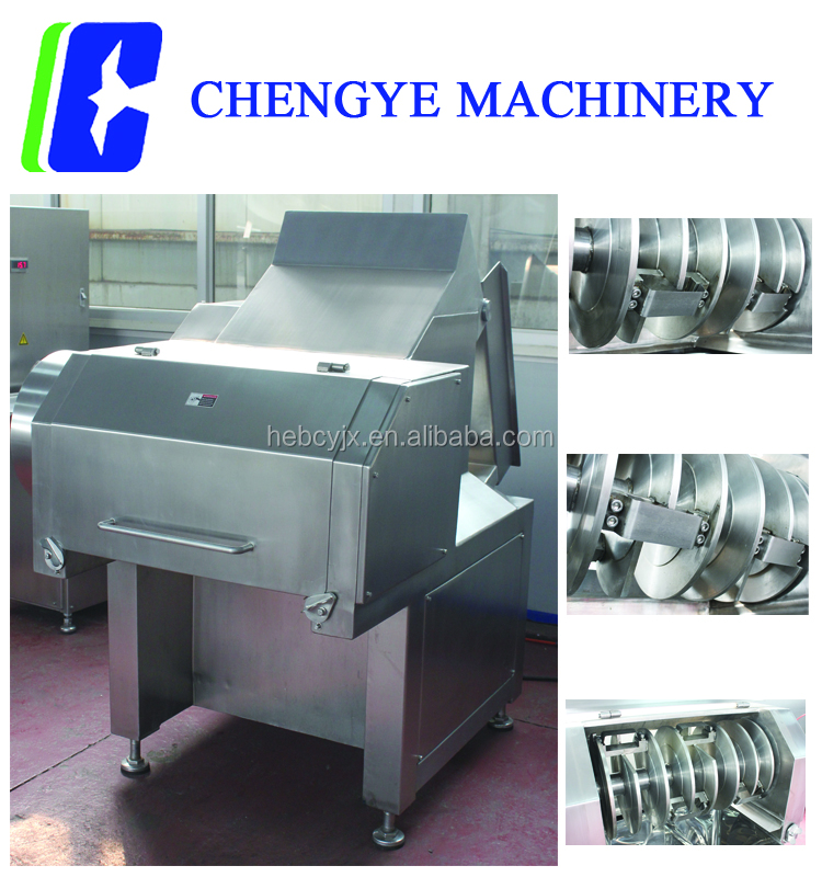 QK553 Frozen Meat Flaker, Top sale commercial frozen meat slicing machine with advanced cutting system