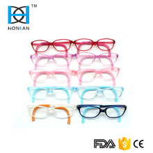 Hot selling good quality anti-slip children TR optical frames with elastic straps