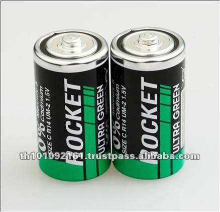 Hot Selling Dry Cell Battery 1.5V R14 Battery