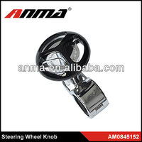 Popular design ANMA high quality truck steering wheel knob