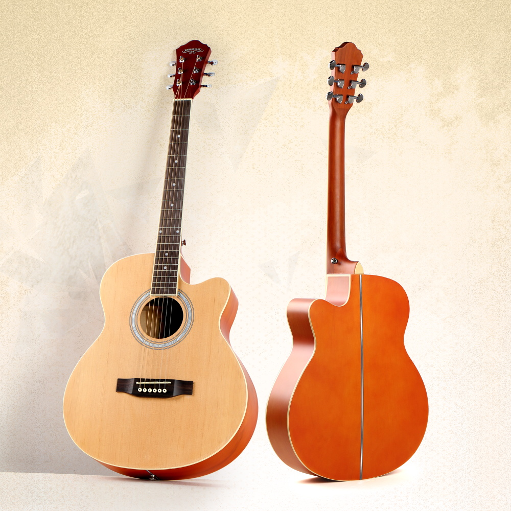 CARAVAN MUSIC China Made Cheap Acoustic Beginner Guitar with Low price