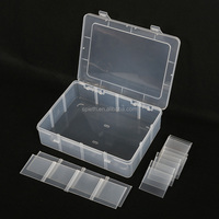 Makeup organizer compartment plastic storage drawers