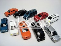 1: 87 HO Scale Model Cars for Model Trains