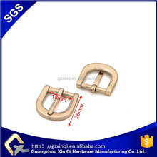 Custom belt buckle shoe pin buckle zinc alloy gold plated custom belt buckle