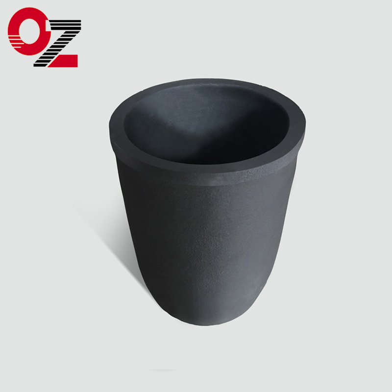 High quality SiC graphite crucible for melting copper