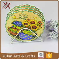ceramic mug pan coaster free design and sample wholesale