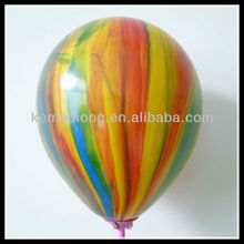 rainbow latex balloon for party decoration