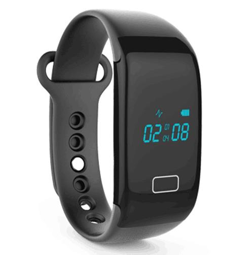<strong>K18</strong> Heart Rate Smart Bracelet Bluetooth 4.0 Wristband Pedometer Calorie Sleep Monitor Call Sedentary Reminder Fitness Tracking