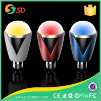 Home Party,Christmas, Stage Decoration Full Color RGB Auto Dimmable G9wifi Music Dimming Rgb 7W Led Bulb 3W E27