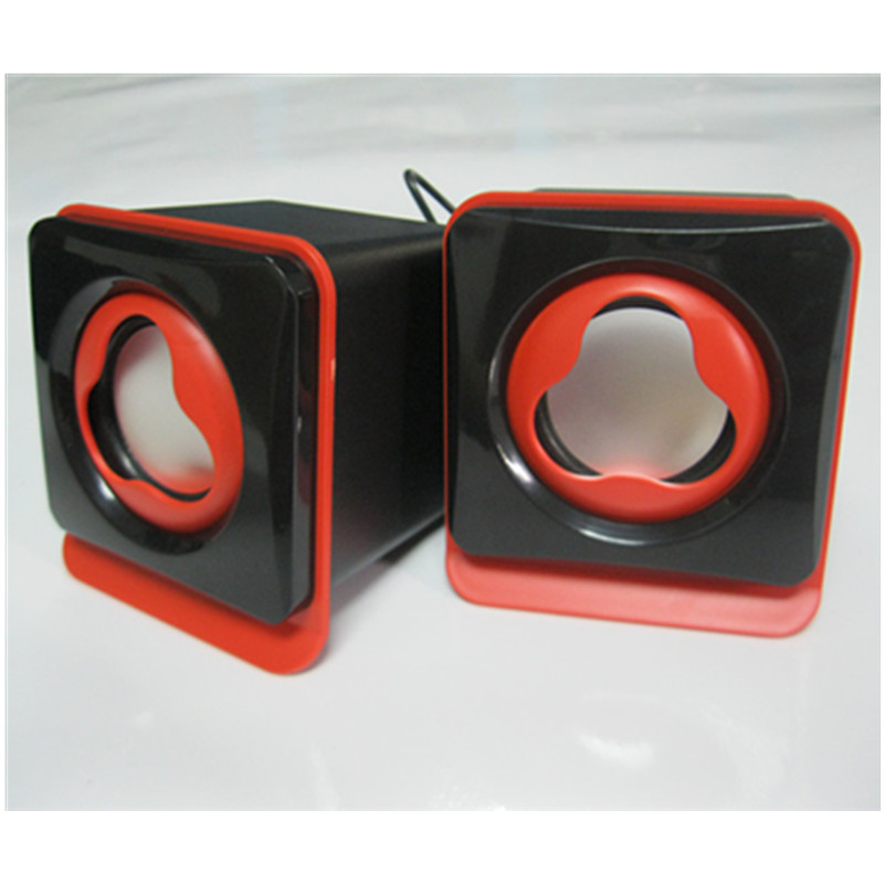 Lovely Mini Usb Laptop Portable/Computer/PC Speakers Audio for mp3/ mp4/ mobile phone gift speaker