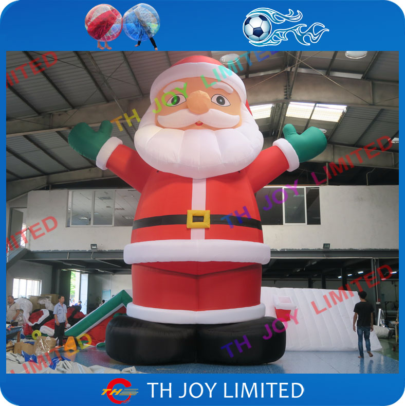 free shipping 25ft/20ft <strong>christmas</strong> inflatable santa advertising inflatable <strong>christmas</strong> old man,black giant inflatable santa claus