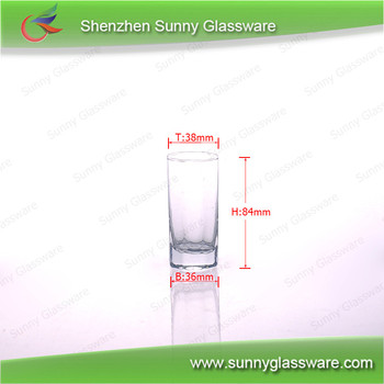 61ml Mini Alcohol Drinking Cup Clear Shot Glass