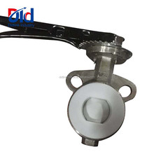 Catalogue Dimension End Connection Installation V Lug Style Watt Weco Wafer Type Butterfly Valve