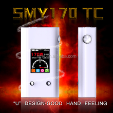 vape best selling products vape smy 170w tc box mod 500 puff e cigarette/sapphire e cigarette/avatar e-cigarette