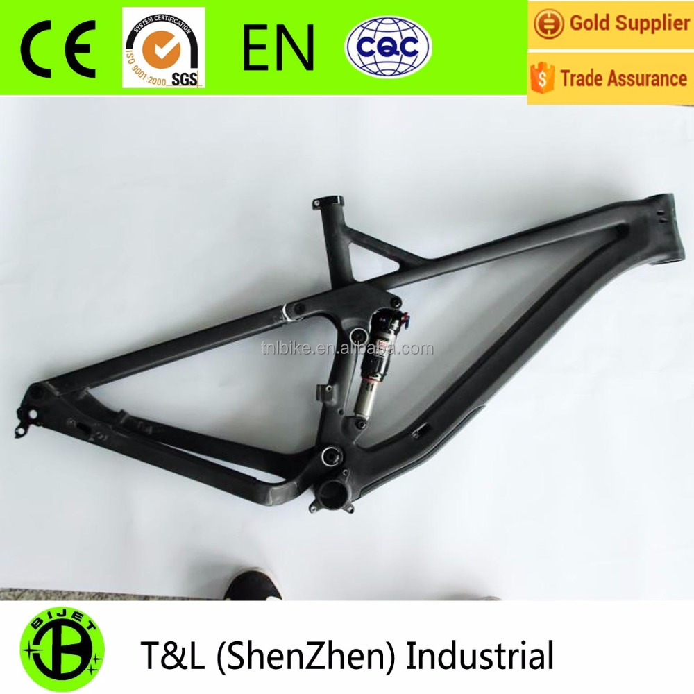 Full suspension mtb carbon fiber frame mtb frame 29er