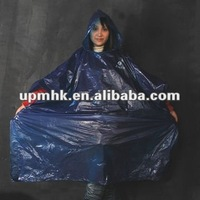 composable plastic raincoat