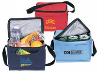 Eco-friendly six pack cooler bags