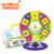 2018 Educational toy for Kids Magnetic Toy Stack Building Tile Block GW-ZT663 safe Baby Educational Gift