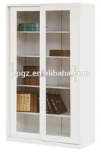 High quality sliding glass door filing key cabinet,metal filling cabnet