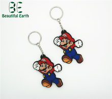 Shenzhen factory custom pvc keychain with nice price