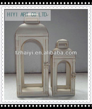 wholesale decorative metal lanterns silver color