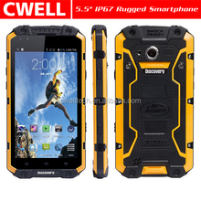 Discovery V9 IP68 Waterproof Rugged Smartphone Snapdragon MSM8212 Quad Core 5.5 Inch IPS Capacitive Touch Screen 1GB RAM/16GB RO
