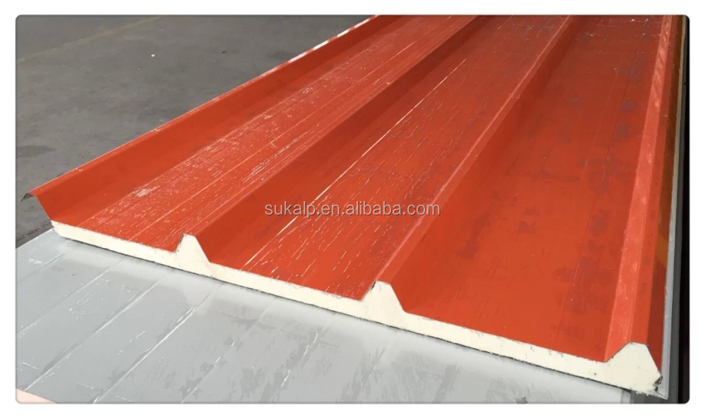 Color Steel Polyurethane Sandwich panel